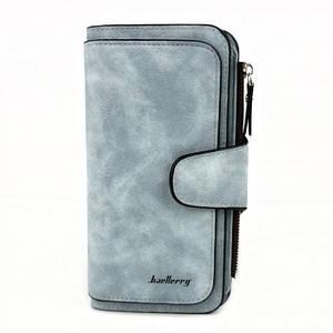 Жіночий гаманець клатч портмоне Baellerry Forever N2345 блакитний