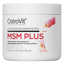 Для суставов и связок OstroVit MSM PLUS 300 г