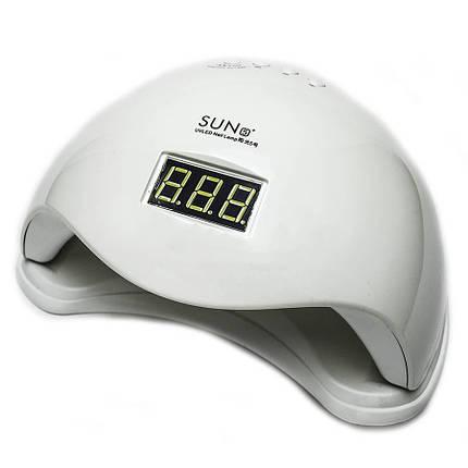 LED UV лампа для наращивания ногтей SUN 5 48 Вт Белая (46121), фото 2