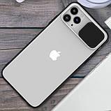 """Силиконовый чехол Camshield со шторкой защищающей камеру для Apple iPhone 11 Pro (5.8""""), фото 2"""
