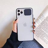 """Силиконовый чехол Camshield со шторкой защищающей камеру для Apple iPhone 11 Pro (5.8""""), фото 3"""