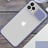 """Силиконовый чехол Camshield со шторкой защищающей камеру для Apple iPhone 11 Pro (5.8""""), фото 4"""