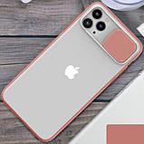 """Силиконовый чехол Camshield со шторкой защищающей камеру для Apple iPhone 11 Pro (5.8""""), фото 6"""