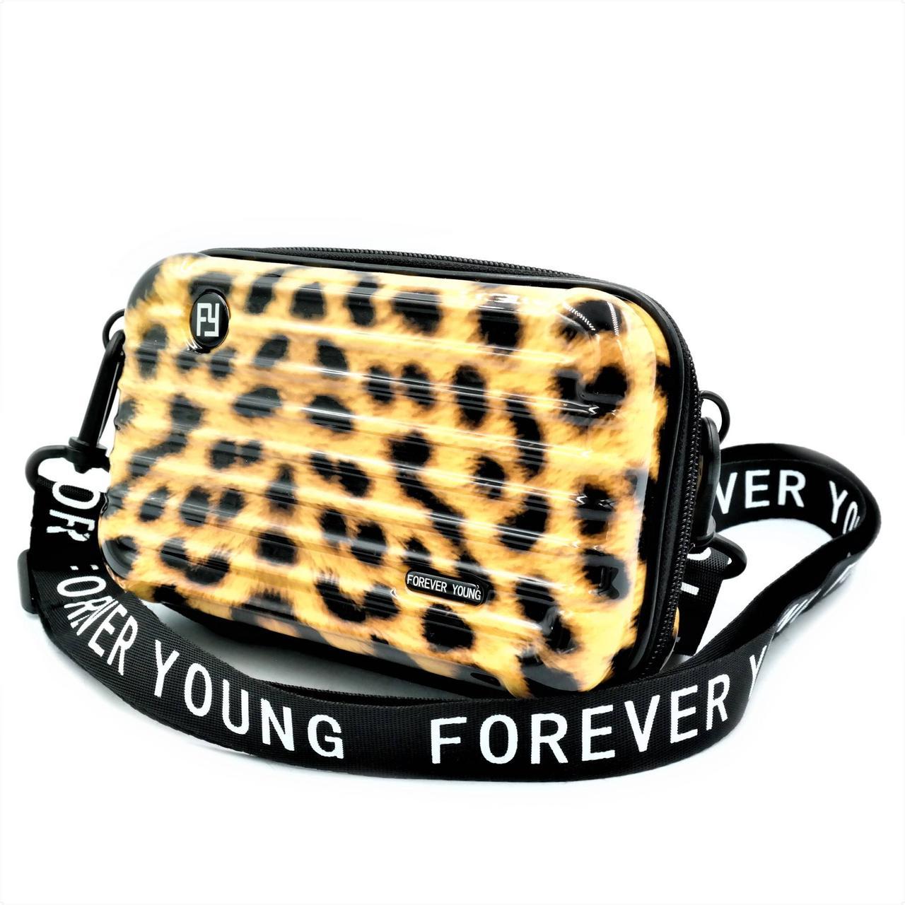 Сумка на плече Forever Young Леопардова (new-bag-00011 )