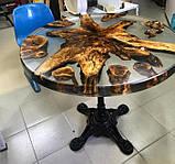 Епоксидна смола ПРОСТО І ЛЕГКО для заливки 3D стільниць з затверджувачем 5 кг Безбарвний (epoxy_stol_3d_pl_5kg), фото 4