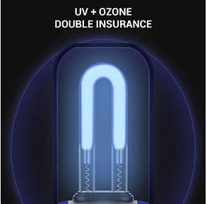 Акумуляторна УФ-лампа UV Гермицидная дезінфекція Біла (hub_Drla99574), фото 2
