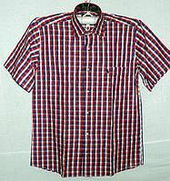 Хлопковая рубашка в клетку, фото 1