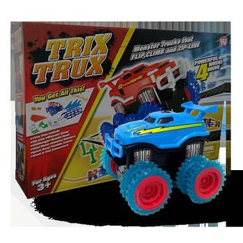 Игровой набор Trix Trux LP100 канатный детский монстр-трак Голубой (hubber-238)
