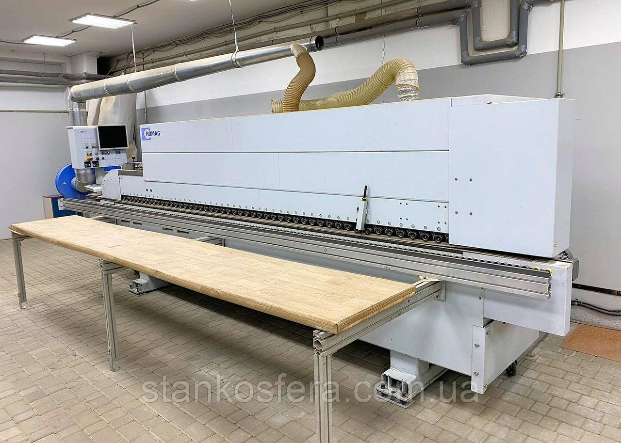 Homag KAL 310 /3 /A3 Optimat б/у кромкооблицовочный станок для производительной поклейки тонкой кромки