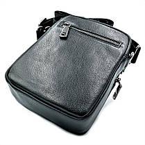 Мужская кожаная сумка H.T.Leather Черный (2000-9), фото 3