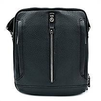 Чоловіча шкіряна сумка H. T. Leather Чорний (5435-4), фото 3