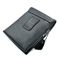 Чоловіча шкіряна сумка H. T. Leather Чорний (5479-12), фото 3