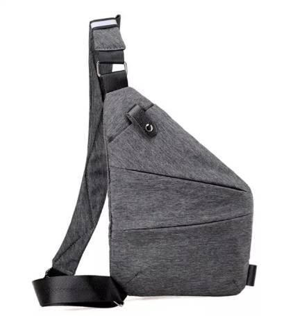 Чоловіча сумка через плече, месенджер Cross Body Сірий (hvty971800823)