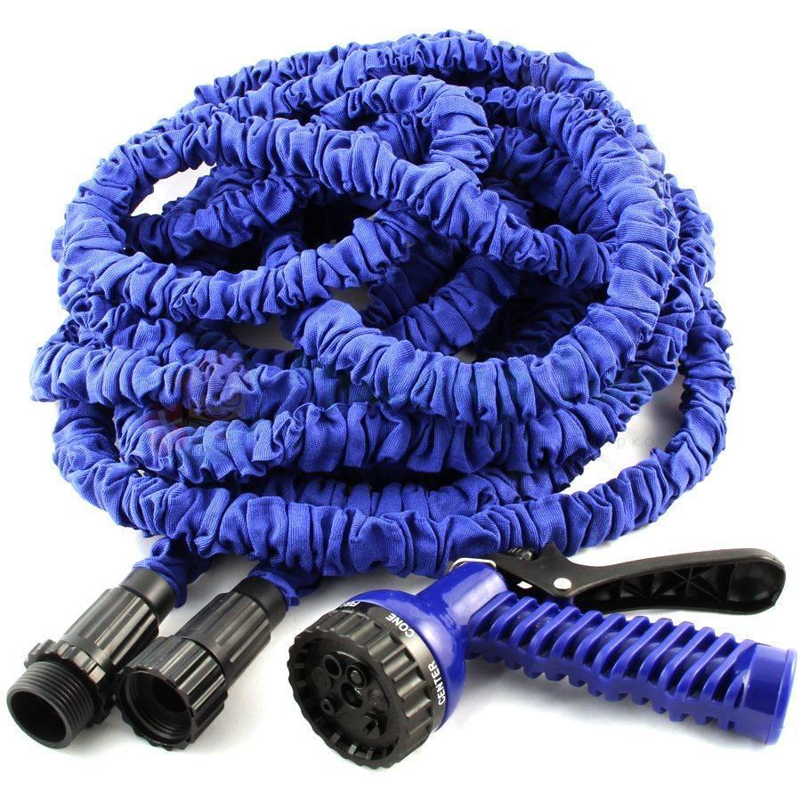 Шланг для поливу XHose 30м з розпилювачем Синій (Bhus905119120)