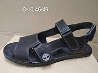 Кожаные мужские босоножки сандали шлепки большого размера 46, 47, 48, 49, фото 1