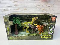Набір динозаврів, рухомі кінцівки, в коробці 3302-15