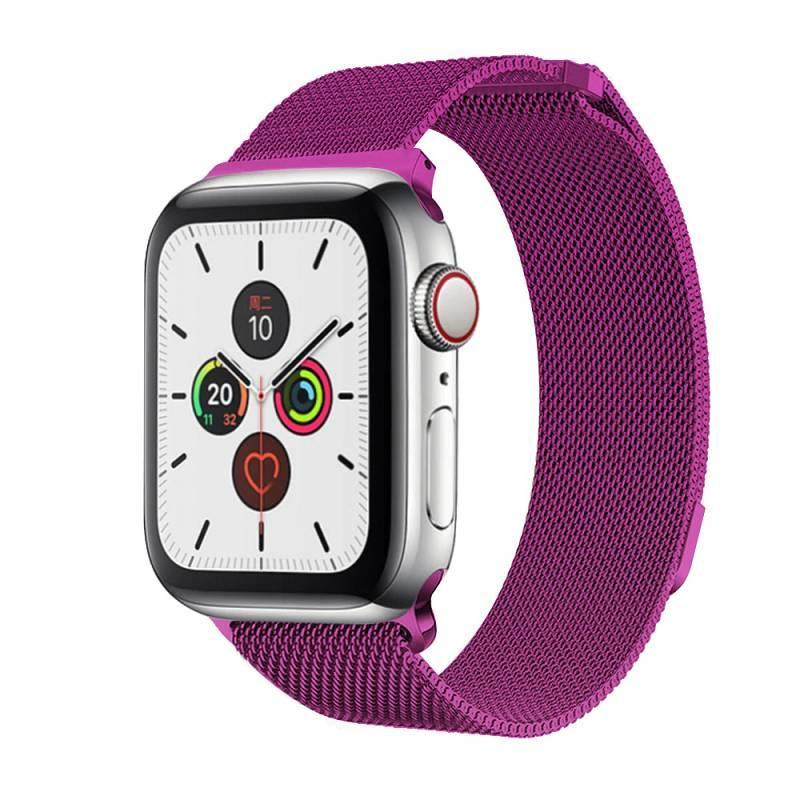 Браслет BeWatch для Apple Watch series 3 | 4 | 5 | 6 с шириной корпуса 38 | 40 мм Ремешок миланская петля