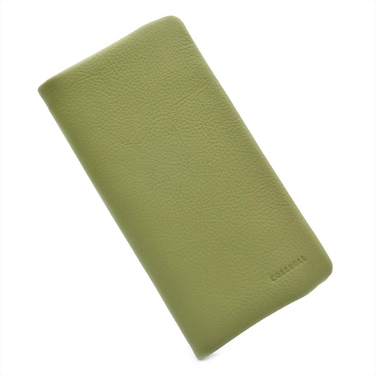 Женский кожаный кошелек A181-1713B-10-2 Зелёный