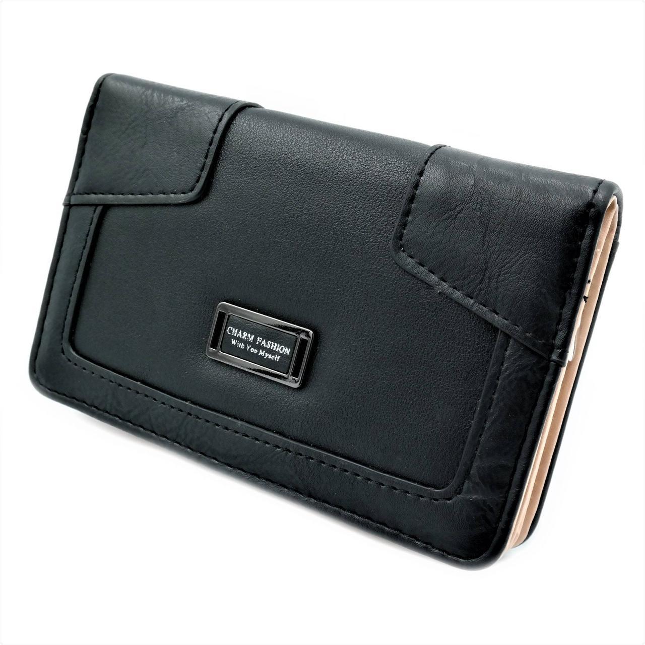 Жіночий гаманець 819-13-3 Чорний