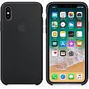 Чехол Silicon Case для Apple iPhone X/Xs Black (JSCX/XsBlack), фото 2