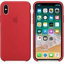 Чохол Silicon Case для Apple iPhone XS Max Red (JSCXsMAXRed), фото 2