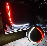 Универсальная Динамическая Подсветка дверей авто, светодиодная LED подсветка дверей автомобиля Стробоскопы