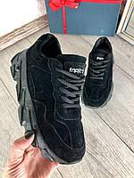 Кроссовки черные стильные, фото 1