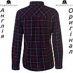 Рубашка мужская фланелевая SoulCal из Англии - на длинный рукав в клетку, фото 2