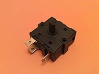 Переключатель мощности на 2 рабочих положения - 3 выхода (контакты 3+0) / 16A / 250V для обогревателей,каминов, фото 1
