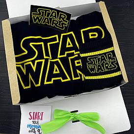 """Подарочный набор мужской. Футболка с принтом """"Star Wars"""", носки с принтом """"Star Wars"""""""