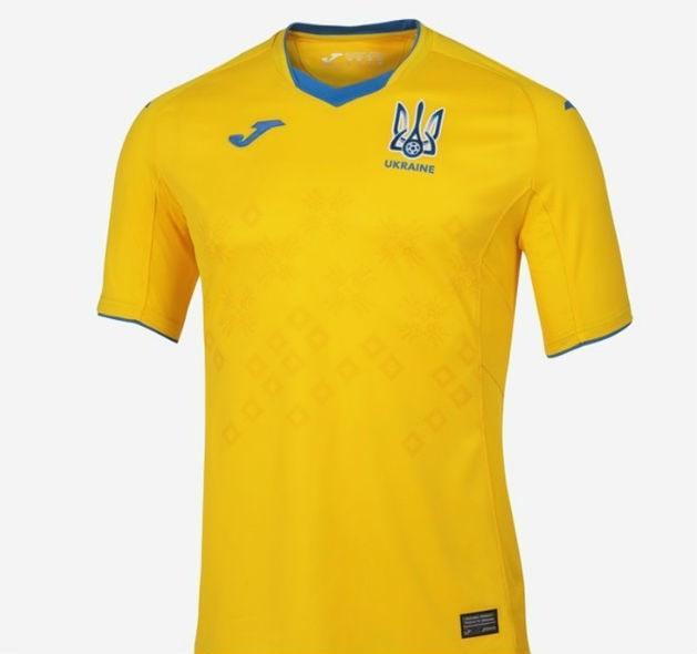 Футбольная форма сборная Украины Joma домашняя желтая 2021