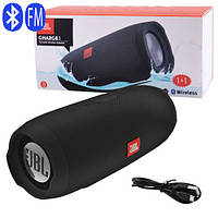 Bluetooth-колонка JBL CHARGE 3+, speakerphone, радио, black