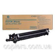 Developer Unit DV313K  Bizhub 308 368 C258, оригинал, A7U403D, dv-313k