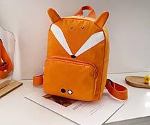 Стильний дитячий рюкзак з милими принтами і вушками, фото 2
