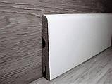 Ламінована плінтус МДФ підлоговий Pedross Дуб білий, 70х14х2400мм, фото 2