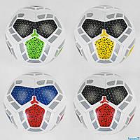 М'яч Футбольний З 40211 (60) розмір №5 4 кольори, матеріал м'який PVC, 330-350 грам, гумовий балон