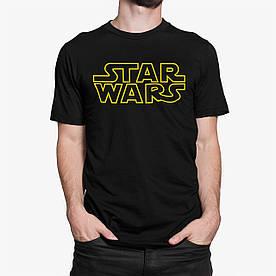 """Футболка чоловіча чорна з принтом """"Star Wars"""" XL"""