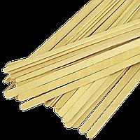 Мішалка дерев'яна 180*6*1,8 зиппакет (1уп/800шт/1ящ/16уп), фото 1