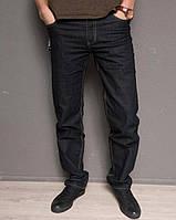 Мужские демисезонные джинсы весна осень черные 30,31,32 р.