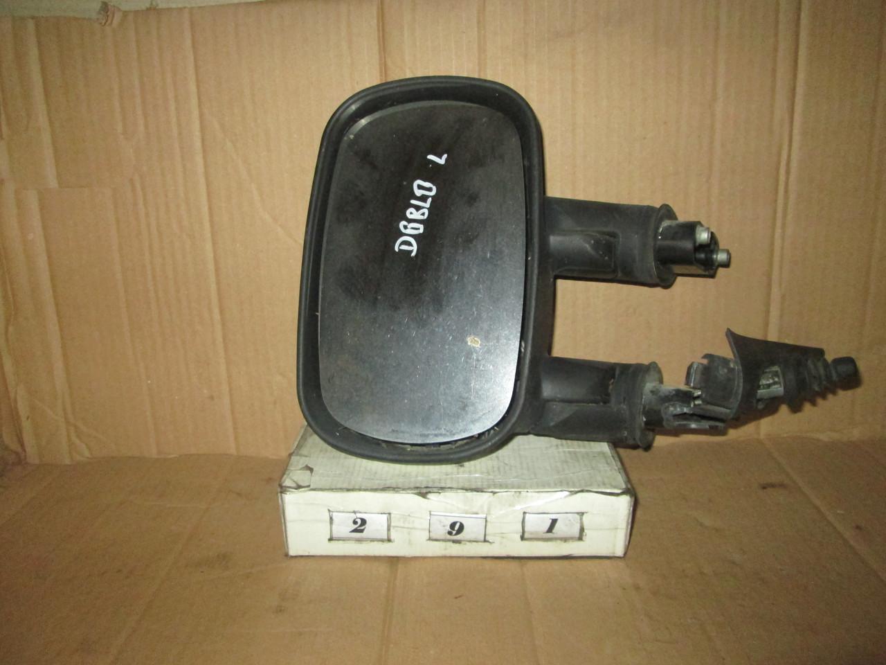 № 291 Б/у Дзеркало бокове ліве для Fiat Doblo 2000-2010 (Дефект)