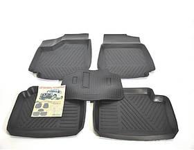 Гумові килимки Mercedes W901-905 Sprinter 1995-2006 ЗРТИ комплект чорні Харків