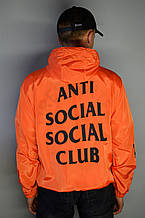 Мужская легкая ветровка ASSC x Paranoid orange