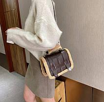 Стільная жіночку сумкка оригінального дизайну, фото 3