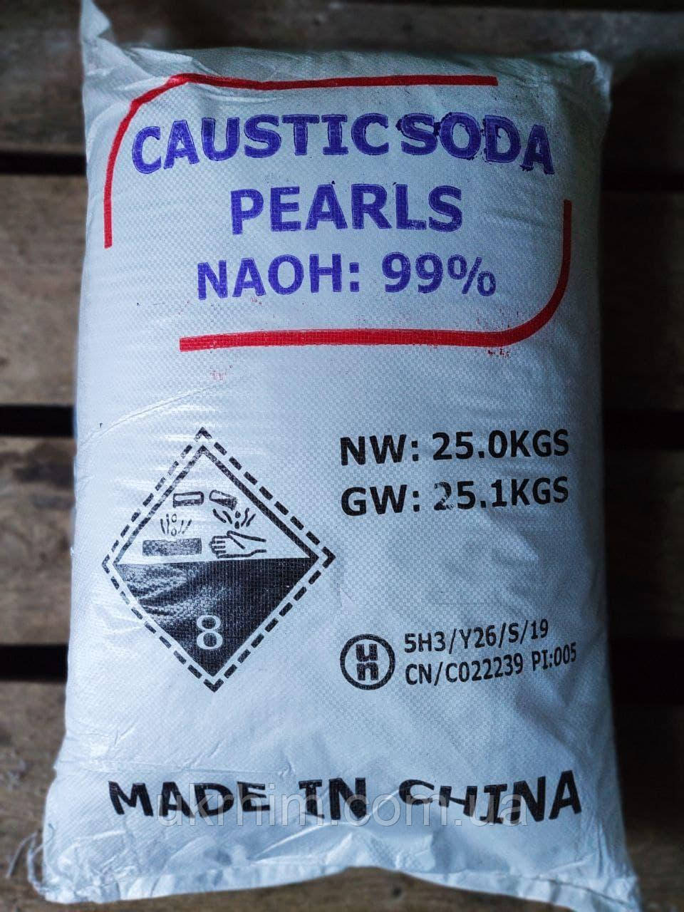 Сода каустическая, Натрий гидроксид