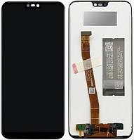 Дисплей Huawei Nova 3e, P20 Lite (ANE-L21, ANE-LX1) complete Black