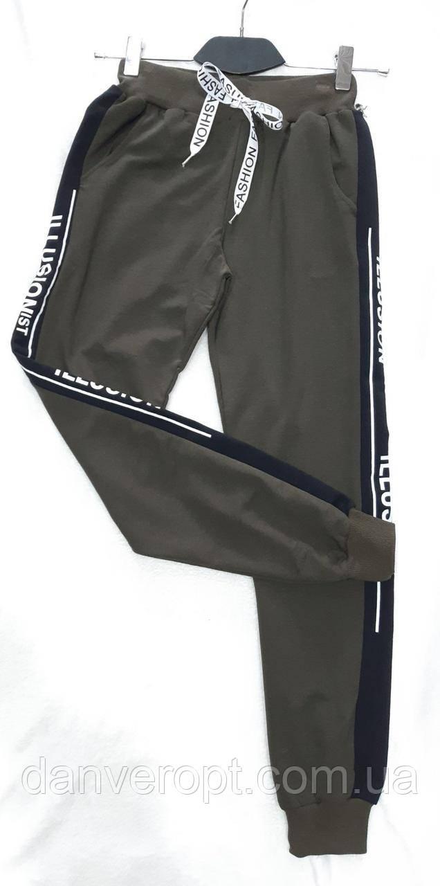 Спортивные штаны женские стильные с лампасами размер 42-48 купить оптом со склада 7км Одесса
