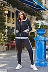 Теплый спортивный женский костюм на флисе (Батал), фото 2