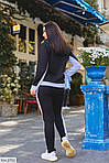 Теплый спортивный женский костюм на флисе (Батал), фото 3