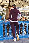 Теплый спортивный женский костюм на флисе (Батал), фото 6