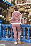 Теплый спортивный женский костюм на флисе (Батал), фото 7
